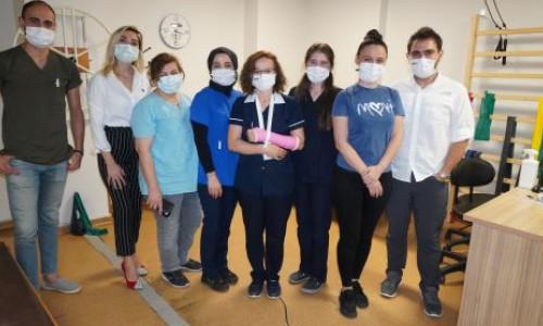 Grandmedical'de Fizyoterapistler Günü kutlandı