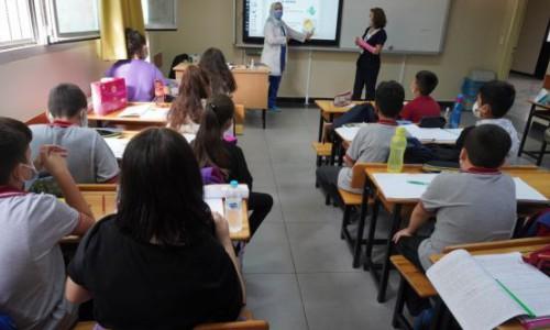 Grandmedical'den sosyal sorumluluk projesi:  Öğrencilere kovid-19 eğitimi